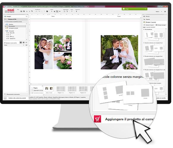 Crea un fotolibro firmato saal digital con le tue foto for Crea il tuo software di casa